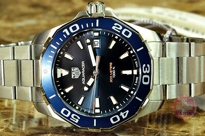 TAG Heuer Aquaracer Divers 300M Blue WAY111C.BA0928 Box / Papers / Warranty Card