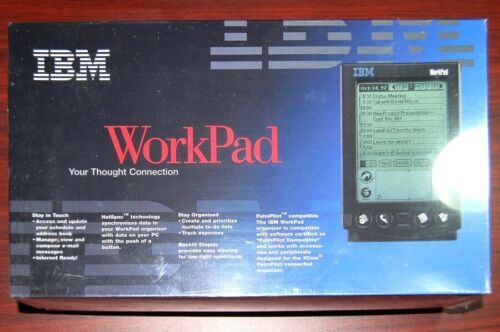 IBM WorkPad Palm Pilot Professional PDA Organizer Brand New Sealed Computer