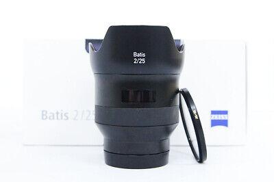 # Carl Zeiss Batis 25mm / f/2 / f2.0 Lens for Sony E Mount + BW filter S/N 5490