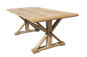 ELM SOLID TIMBER DINING TABLE Manly Vale Manly Area Preview