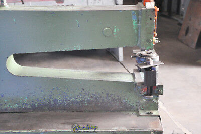 5 Ton Used Roper Whitney Kick Punch Press 58 A4037