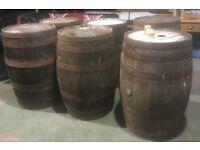 Fantastic Oak Whiskey Barrels Ideal for Tables - UK Delivery