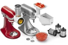 KitchenAid Slicer/Shredder + Grinder/Strainer Attachment Pack, KSMFPPA