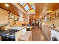 Widebeam Dutch Barge houseboat 3 bedroom flat with London mooring REDUCED for QUICK SALE