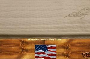 ZIPPER COVER For HARDSIDE WATERBED MATTRESS / Water Bed