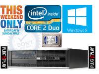 HP ELITE PC, 8GB, 250GB (HIGH SPEC) (SALE)