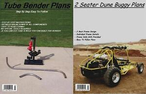 2-SEAT-DUNE-BUGGY-SANDRAIL-TUBE-BENDER-PLANS-ON-C-D