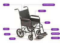 BRAN NEW 9TRL 127kg and AP100 112kg wheelchair