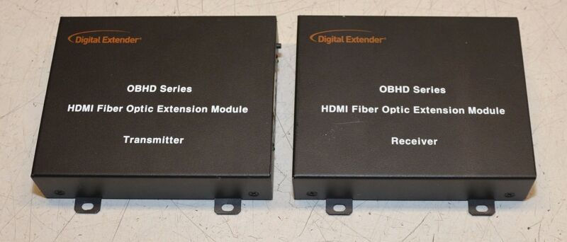 RTcom Digital Extender OBHD Series HDMI Fiber Optic Extender