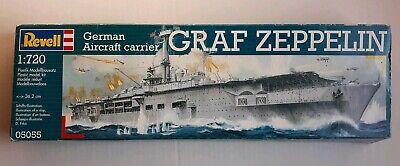 Revell German Aircraft Carrier Graf Zeppelin Model Kit Scale 1:720 05055