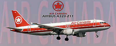 Air Canada Airlines Airbus A320 Photo Magnet  Pmt1607