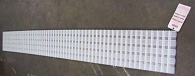 Intralox 10 X 14.4 Series 600 Polyethylene Multi-lane Conveyor Belt Belting