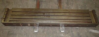 78 X 15 Steel T-slotted Table Cast Iron Welding Layout Fixture Jigt Slot