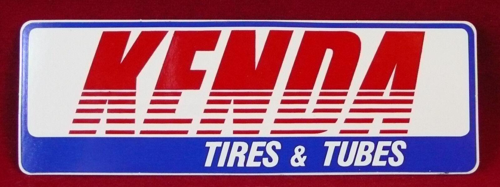 "Kenda bike sticker decal Tires Tubes  MTB race bicycle ride 12/"" BIG"