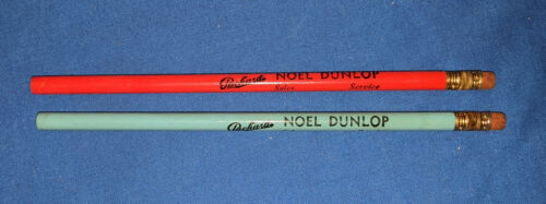 Two Packard Automobile Dealership Advertising Pencils, Unused 1940s or 1950s
