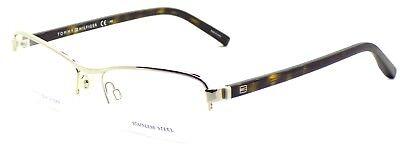 TOMMY HILFIGER TH 1141 86Q Women's Eyeglasses 53-16-140 Light Gold Havana + CASE
