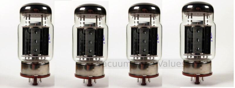 Svetlana Factory Matched Quad  KT88  KT-88 Power Amp Tubes