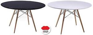 Eames DSW Dining Table Replica - Large Round 120cm Scandinavian Nerang Gold Coast West Preview