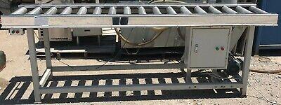 Electric Roller Conveyor Table 98 X 24 12