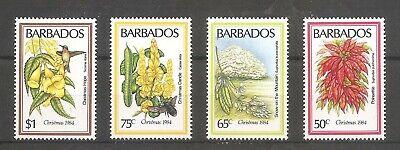 FLORES / FLOWERS - BARBADOS 1984, MNH