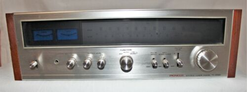 Vintage 1970s PIONEER TX-9100 Stereo Tuner Serviced Tested Working