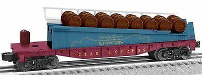 Lionel Polar Express Barrel Ramp Car # 1928430