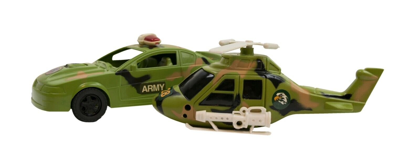 BOYS TOY ARMY ARMORED MILITARY VEHICLE PATROL CAR GUNNER SOUNDS LIGHTS
