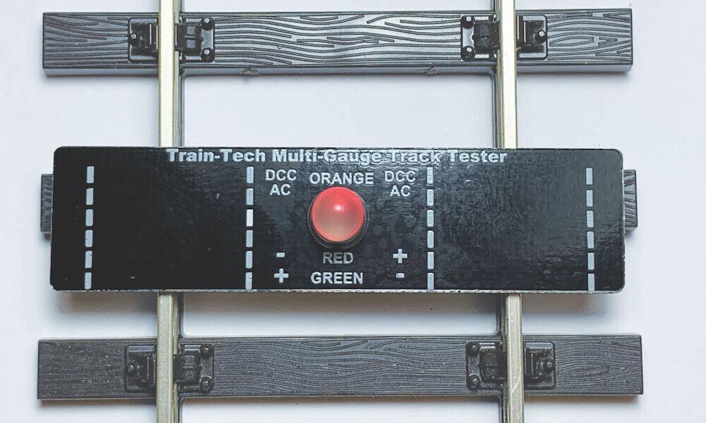 Train-Tech TT10+ H0//00//0//G Scales 1stpos LED Multi Gauge Track Tester DCC//DC