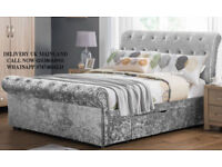 Sliegh chesterfield available,mattress also available