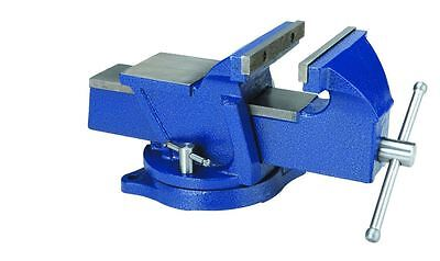 6 In. Swivel Vise Workbench Table Jaws Clamp Pipes Swivel Base Anvil Shop Garage