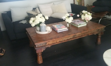 Island Luxe Handcrafted Coffee Table