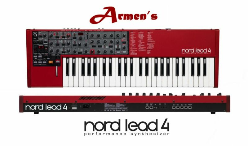 Nord Lead 4 PERFORMANCE 49KEY Synthesizer Synth 4  /49 KEYBOARD NEW/ ARMENS
