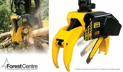 High capacity hydraulic grapple saw package for excavators Tumut Tumut Area Preview