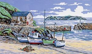 Anchor Needlepoint Tapestry Kit - Mullion Cove, Cornwall KT85