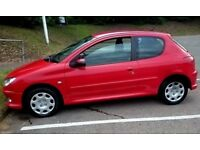 Peugeot 206, 1.4 petrol, MOT May 2019 Great condition, only 91 000 miles