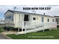 BOOK NOW FOR £25: MARINERS: MARINE HOLIDAY PARK, RHY: SLEEPS 8 MAX, DOG-FRIENDLY