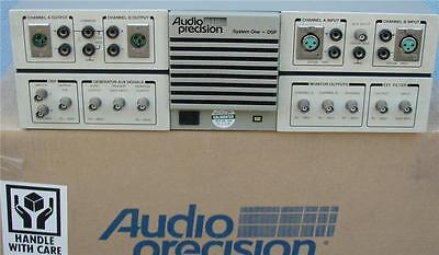 Audio Precision Sysone Wdsp Audio Analyzer Sys222-usb Usb-apib Cable. Cal