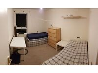 Almost new single beds for sale