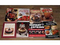 8 Recipe Books