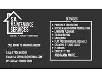 SA SERVICES - Odd Jobs - Repairs - Maintenance