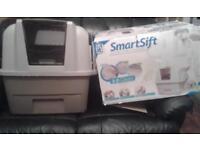 Cat Smart Sift Catit litter box