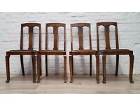 Four Vintage Dining Chairs (DELIVERY AVAILABLE)