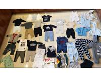 Newborn 0-3 months baby boy clothes