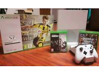XBOX ONE S 500GB WITH OVER 20 GAMES AND 1 GAME PAD WITH DOCK. IMMACULATE CONDITION