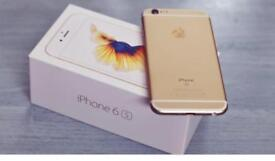 iPhone 6s 64gb rose gold and gold Unlocked excellent condition BOXED