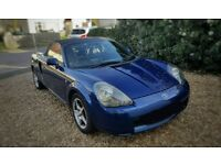 Toyota MR2 Roadster convertible £595, needs a new clutch (hence the price) reliable and fun to drive