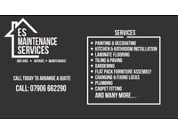 ES Maintenance Services - Odd Jobs - Repairs - Maintenance
