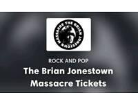 2 x Brian Jonestown Massacre tickets, glasgow, barrowland 17 october