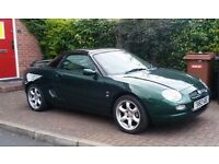 MGF, 1.8i, Low mileage, Leather Seats. Soft and Hard Tops