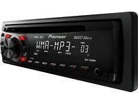 Car Stereo Pioneer DEH-1300MP Mp3 Aux in CD Tuner - Red Illumination, £44